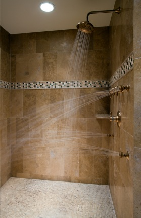 Shower Plumbing in Independence MO by Kevin Ginnings Plumbing Service Inc..