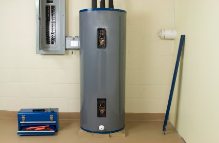 Water heater in Overland Park KS by Kevin Ginnings Plumbing Service Inc.